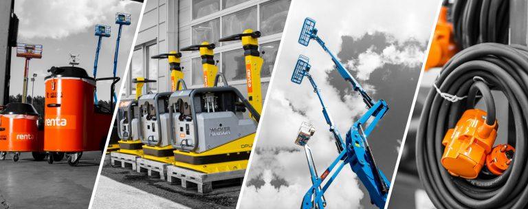 Kävlinge industrilokaler byggs till för Renta maskinuthyrning