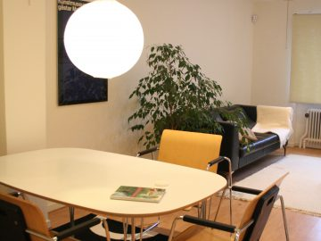 Landskrona företagslokal och kontor med övernattning